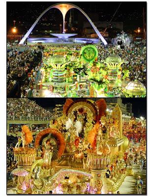 Karnevalen i Rio de Janeiro och Brasilien