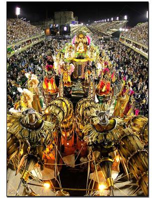 De brasilianare som inte besöker någon av karnevalerna reser till ...